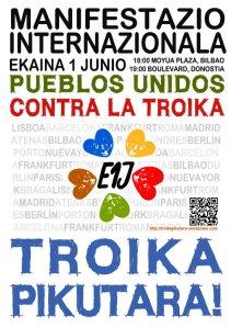 1 de junio contra la Troika
